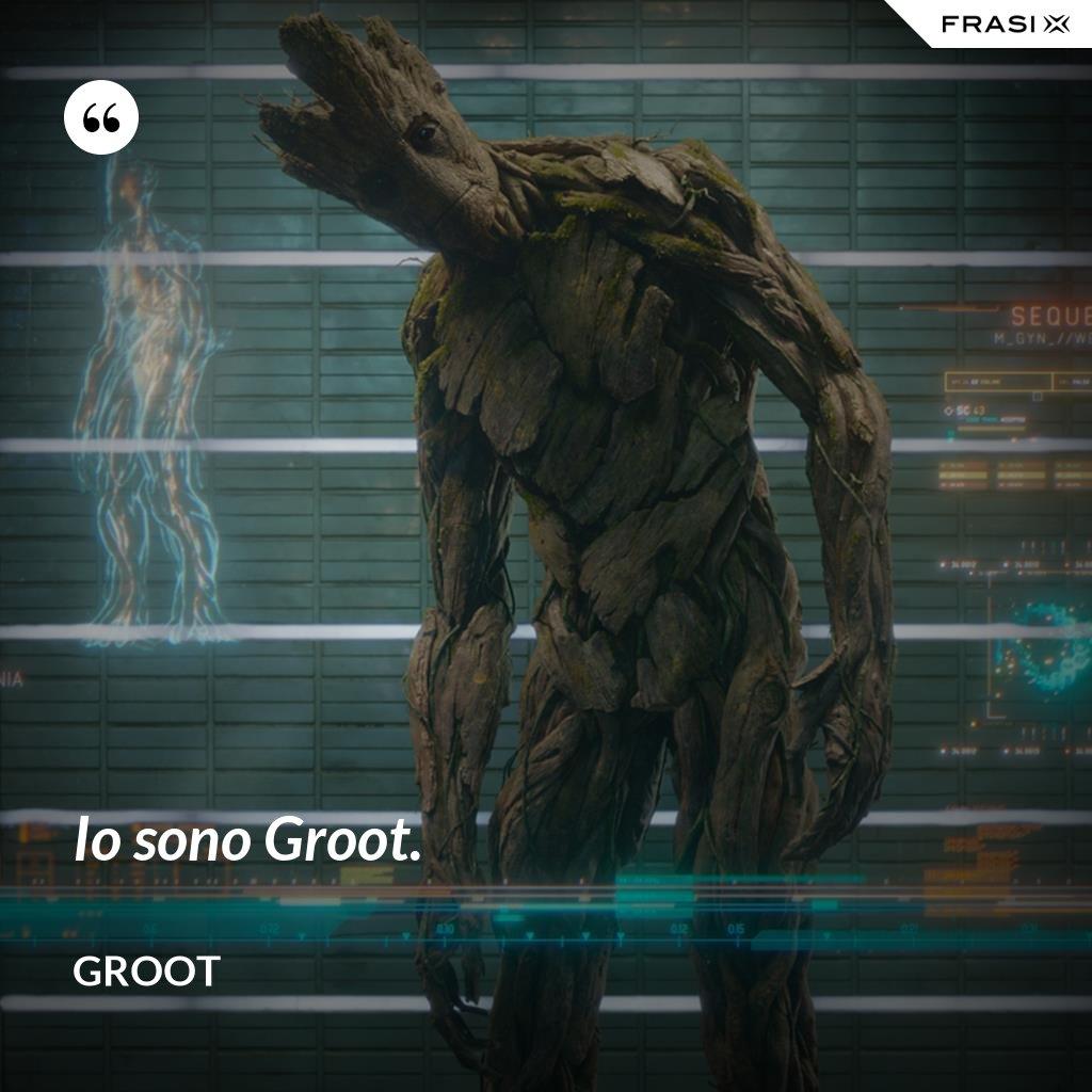Io sono Groot. - Groot