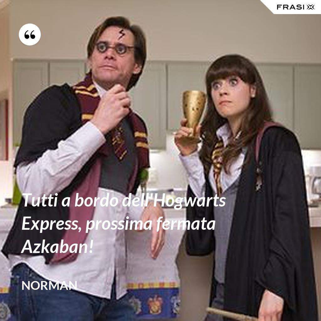 Tutti a bordo dell'Hogwarts Express, prossima fermata Azkaban! - Norman