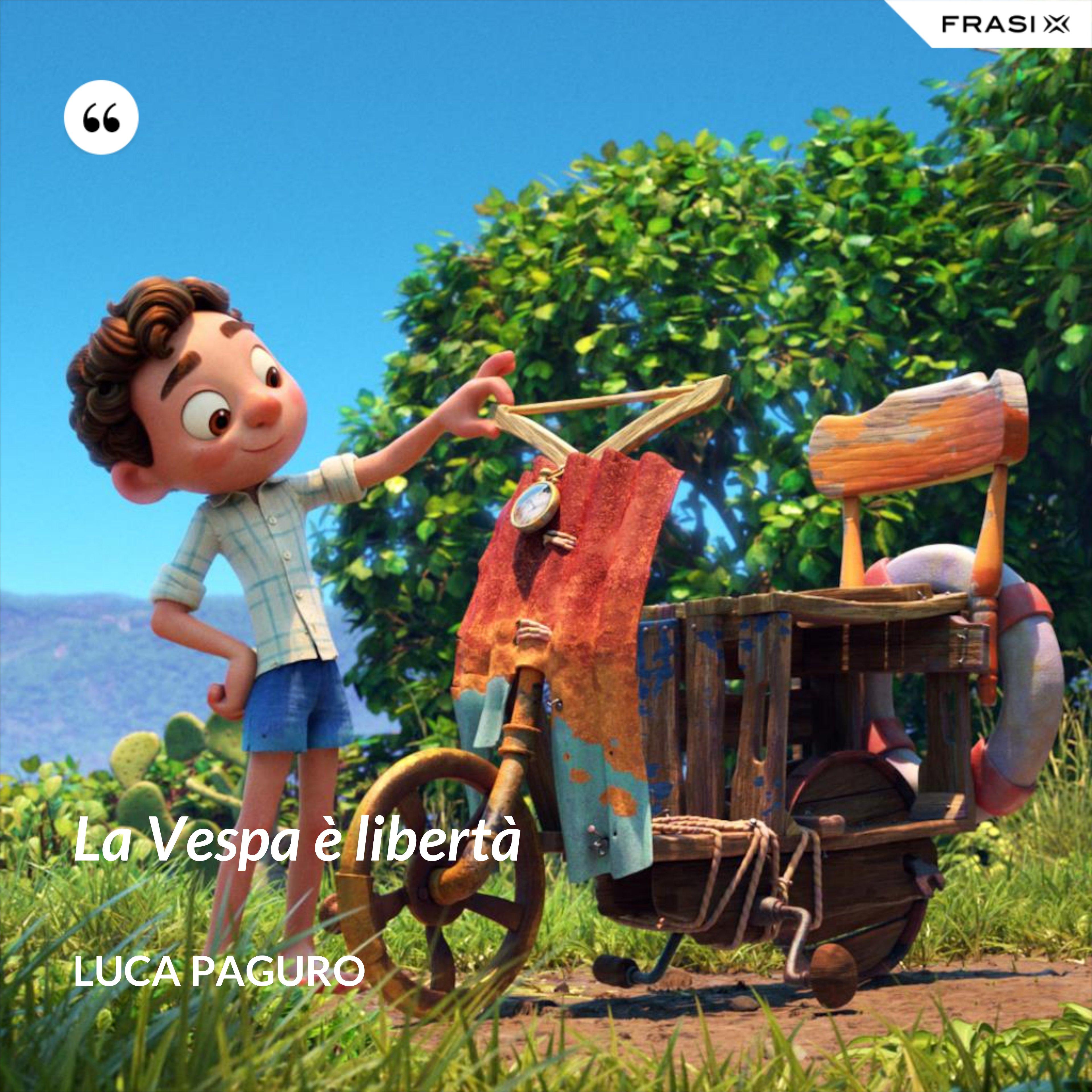 La Vespa è libertà - Luca Paguro